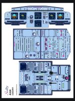 A320 Student Desk Poster