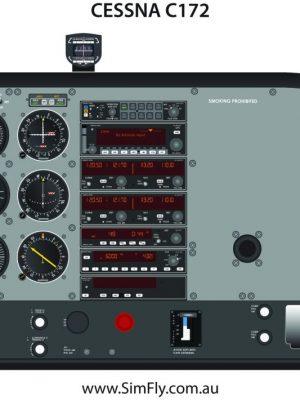 Cessna C172 Cockpit Poster