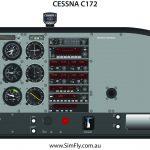 Cessna C172 Student Desk Top Poster