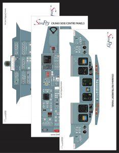 CRJ 900 3 page poster set