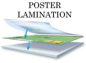 Poster-Lamination