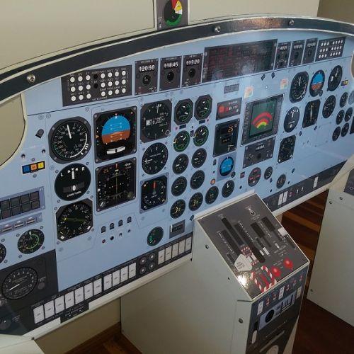 Cockpit-trainer