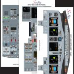 Boeing B737-800 3 Page Poster Set