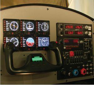 SimFly FST1100 instrument panel