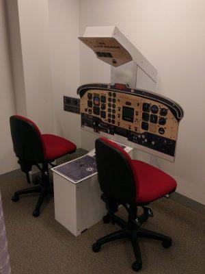 B200 cockpit trainer