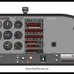 Cessna C172 Student Desk Top Poster