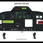 Airtractor 504 Poster