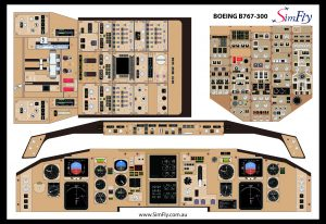 B738 Student cockpit Poster